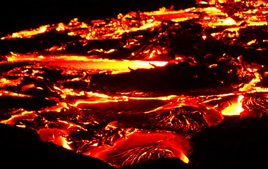 Magma could be source for geothermal energy in Iceland and other countries. Photo via Inhabit.com.